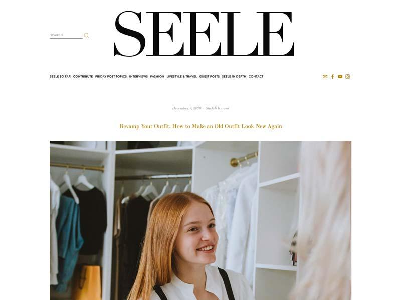 Seele Magazine Article - Revamp Your Outfit - Shefali Karani